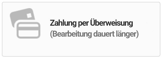 Überweisung